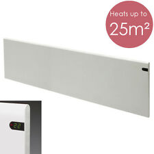 NEW 2018 ADAX NEO Electric Panel Heater With Timer, Wall Mounted, 2000W, White