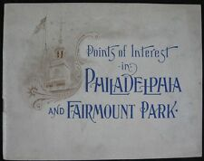 1900 Pictorial Views Points of Interest in Philadelphia & Fairmount Part