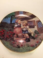 Hummel Plate - Little Companion Series - Squeaky Clean 1990