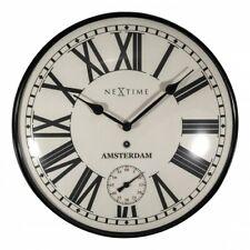 NeXtime Amsterdam Dome Wall Clock, 30cm