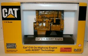 CAT C15 ON-HIGHWAY ENGINE WITH ACERT TECHNOLOGY 1/12 SCALE MODEL 55139 ORIGINAL