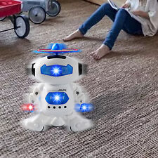 Electronic Walking Dancing Robot Toys for Kids Little Robot with Music LED Light