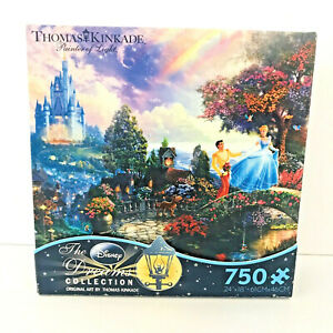 Thomas Kinkade Cinderella Wishes Upon A Dream Ceaco 750 Piece Puzzle