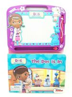 Disney Doc McStuffin Erasable Magnetic Drawing Pad & Pen Storybook Learn to Draw