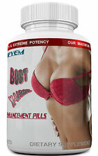 BUST X-LARGE  Breast Enlargement & Enhancement Pills. Extra Strength, 60-Tablets
