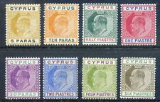 Mint Hinged British Colonies & Territories 8 Number Stamps