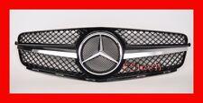 Mercedes W204 C300 C350 C230 Grille Grill 1 FIN Black MESH Center AMG SLS Style