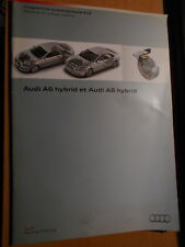 AUDI hybride hybrid A6 A8 : programme autodidactique 615