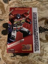 Transformers Optimus Prime - Platinum Edition Year Of The Horse 30th Anniversary