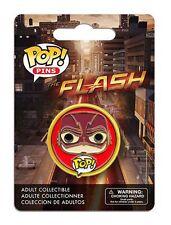 OFFICIAL DC COMICS POP! HEROES THE FLASH (TV SERIES) CARTOON PIN/ BADGE (NEW)