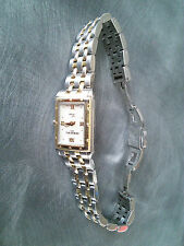 LADIES RAYMOND WEIL COLLECTION TANGO 5971 WATCH WITH MOTHER OF PEARL FACE.