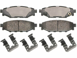 Rear Brake Pad Set 8ZTD98 for Legacy BRZ Crosstrek Forester Impreza Outback WRX