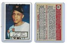 WILLIE MAYS San Francisco Giants 1952 Topps #261 Rookie RP Card Mint