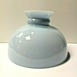 """Westinghouse Baby Blue 10"""" Cased Glass Student School Shade Globe 84577 NEW WOW!"""