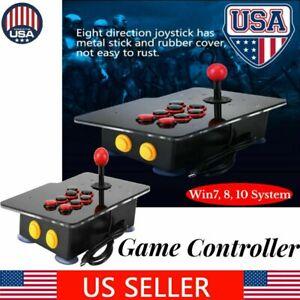 Arcade Fighting Game USB Stick Controller Joystick Gamepad For PC Computer USA