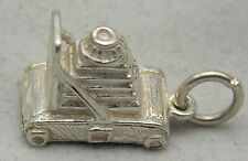 3D STERLING SILVER CAMERA CHARM