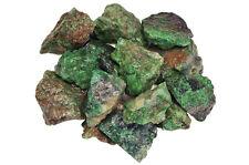 1 lb Wholesale Chrysoprase Rough Stones - Tumbling Tumbler Rocks, Reiki, Wicca