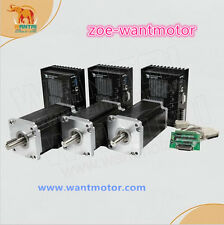 Ship From USA! Wantai 3Axis Nema42 Stepper Motor 3256oz-in 6.8A cnc kit+DQ860MA