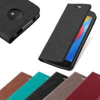 Custodia per Motorola MOTO C Portafoglio Cover Case Magnetica Libro