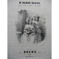 DOCHE Mme Barbe Bleue Chant Piano ca1840 partition sheet music score