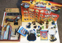 Skylanders Lot Super Chargers, Trap Team Huge Lot In Great Condition!!