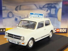 CORGI VANGUARDS LEYLAND MINI 1275 GT GLACIER WHITE CAR MODEL VA13505 1:43