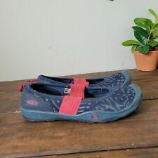 Keen Mary Jane Shoe Blue Pink Red Girls Size 3