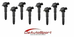 8 x IGNITION COIL PACKs for PORSCHE CAYENNE 955 S TURBO 4.5