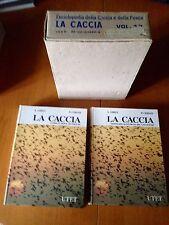 A.Ghigi P.Cerati-LA CACCIA,2 volumi UTET 1a ed.1983 -nuovi-venatoria-con scatola