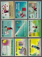 1960 Fleer Yule Laff Trading Cards Complete Set of 66