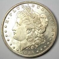 1886-O Morgan Silver Dollar $1 - Choice AU / Borderline UNC MS - Rare Date Coin