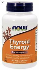 NOW Foods Thyroid Energy, 90 Veg Caps Fast free 1st Class Shipping