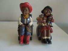 2 Martha Holcombe Figurines - Sylvia And Justin