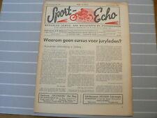 SPORT ECHO 1946-48 LIMBURG JURYLEDEN,MIDDELKAMP,GEBROEDERS VEER 1946 WEGRACE,