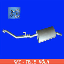 Mittelschalldämpfer BMW 316 318 i E30  82-90 NEU
