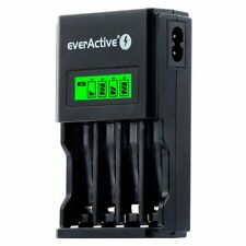 Charger Ni-MH R6/AA, R03/AAA everActive NC-450 Black Edition
