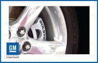 Pontiac Solstice Brake Caliper Decals - set stickers break rotor ( NON GXP )