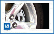 Pontiac Solstice Brake Caliper Decals - set stickers break rotor ( NON GXP )