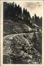 ~1930/40 Bayer. Zugspitzbahn Bergbahn Zugspitze Einfahrt in den kleinen Tunnel