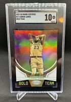 2019-20 Panini Certified Lebron James GOLD Team SGC 10 Lakers