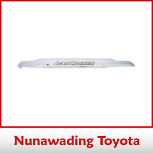 NEW GENUINE TOYOTA BONNET PROTECTOR LANDCRUISER 70 SERIES CLEAR 2001-2007