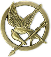 Katniss Everdeen Mockingjay Pin - HUNGER GAMES Movie series promotional pin