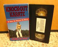 Martial Arts Tournament 1980s KARATE mixed style VHS live action Black Belts KO