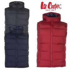 """Blouson Doudoune sans manche à capuche """"LEE COOPER"""" gilet veste homme"""