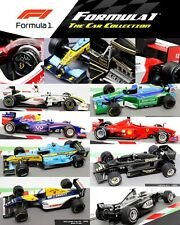 Formula 1 Car Collection Grand Prix 1:43 Scale Model Die-cast F1 CHOOSE YOUR CAR