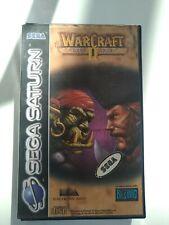 Warcraft 2 the Dark Saga Sega Saturn Pal Completo