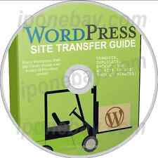 Transfer OR Duplicate Your Wordpress Site on to Another Domain - CD/DVD