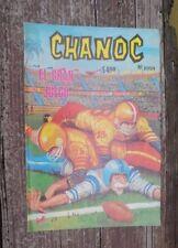 """1980 MEXICAN COMIC CHANOC # 1059 """"EL GRAN JUEGO"""" FOOTBALL PARODY ED. NOVEDADES"""