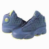 Nike Air Jordan Boys 13 Retro GS Athletic Shoes Squadron Blue 414574-405 Size 5Y