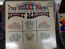 HENRY MANCINI the great race LP VG+ LSP-3402 USA Stereo 2s/2s 1965 Record